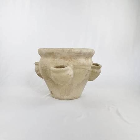 Ziołownik ceramiczny, donica na zioła gliniana